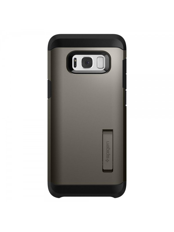 Husa Samsung Galaxy S8, Spigen Tough Armor Air Cushion, Gunmetal