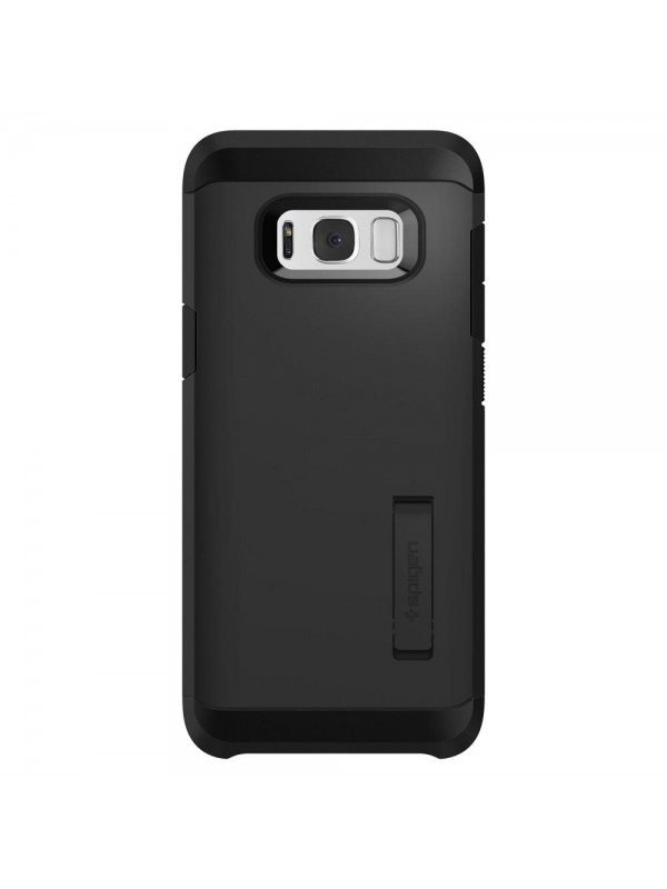 Husa Samsung Galaxy S8, Spigen Tough Armor Air Cushion, Negru