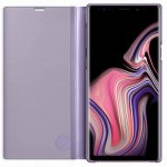 Husa Samsung Originala, Galaxy Note 9, Clear View, Violet