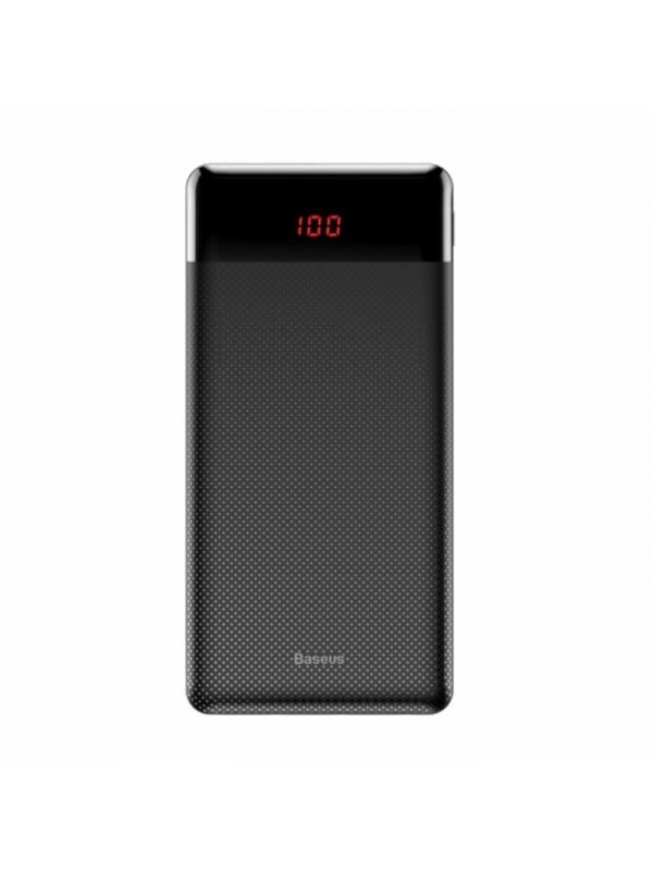 Baterie Externa Power Bank, Baseus Mini, 10000 mAh, 2x USB 2.1A, Negru
