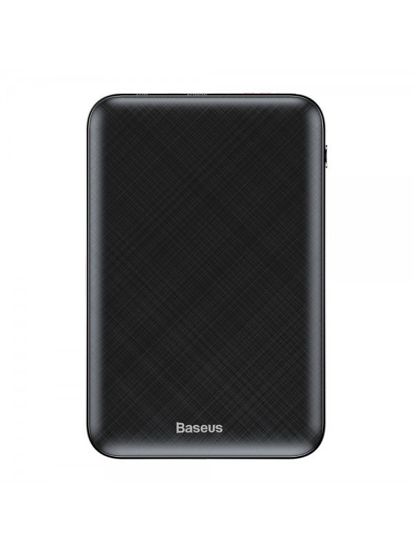Baterie Externa Power Bank, Baseus Mini S Digital Display, 10000 mAh, USB/USB-C PD/Lightning, Negru