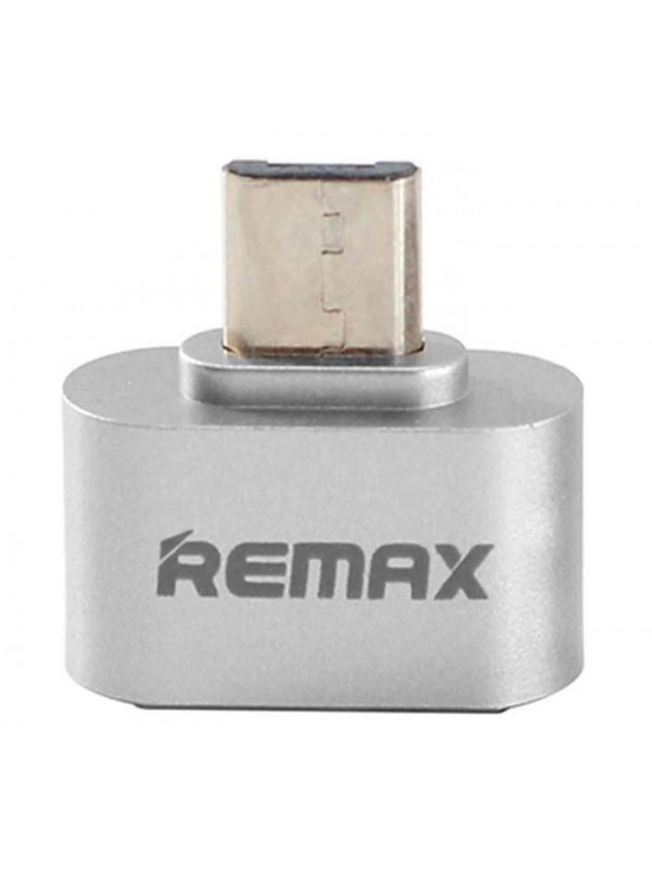 Adaptor Remax, USB, Argintiu