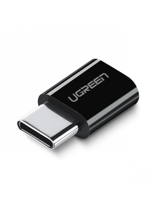 Adaptor Ugreen, Micro USB to USB Type-C, Negru