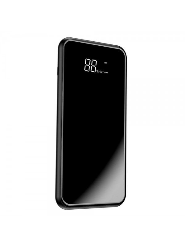 Acumulator Extern Power Bank, Baseus Bracket Wireless Charger, Pull-Type Support, 8000 mAh, Negru