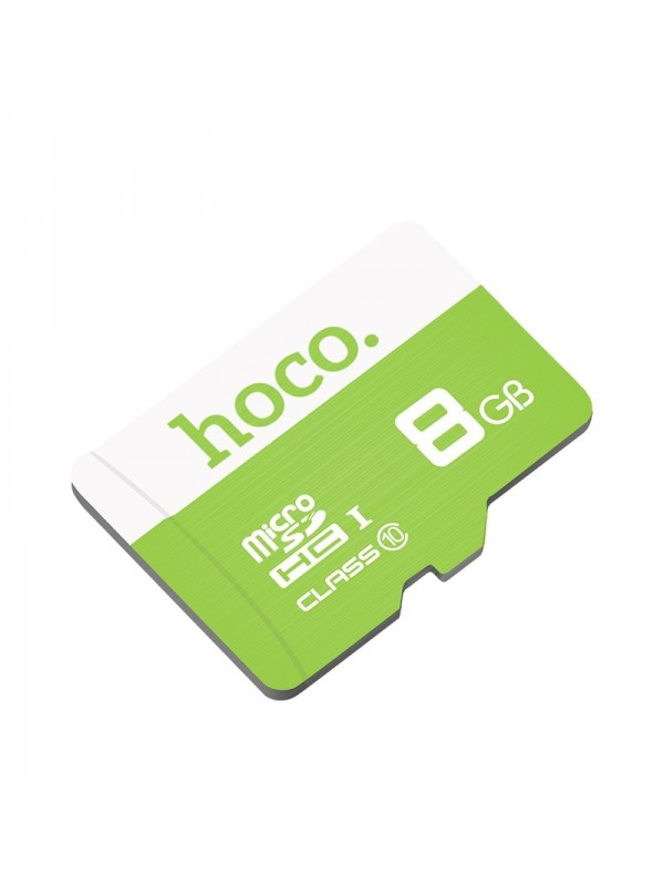 Card de memorie Hoco, TF high speed card Micro-SD, 8 GB, Verde