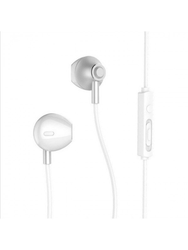 Casti In-Ear Remax, Cu microfon, Argintiu