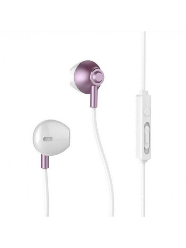 Casti In -Ear Remax, Cu Microfon, Rose
