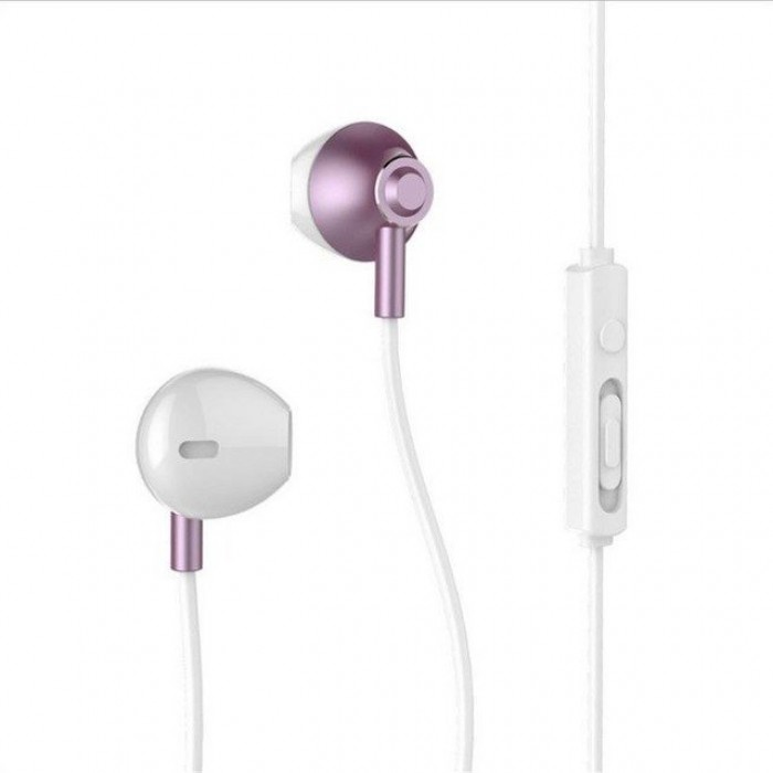 Casti In-Ear Remax, Cu Microfon, Rose