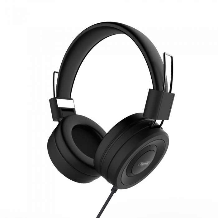 Casti Remax 4D, Over-ear, Negru