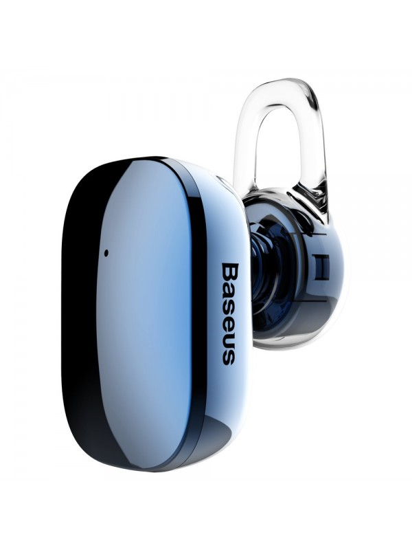 Casca Bluetooth, Baseus Encok A02 Mini, Albastru