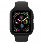 Husa Apple Watch Series 4 (44mm), Spigen Thin Fit, Negru