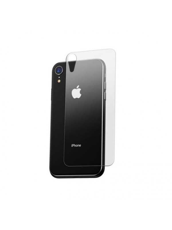 Folie Sticla Baseus, Full Tempered Glass Rear Pentru Spate, iPhone XR, Transparent