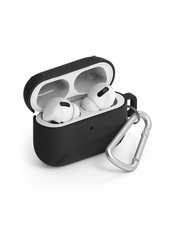 Husa protectoare AirPods Pro, Ringke Strong Protective Case, Negru