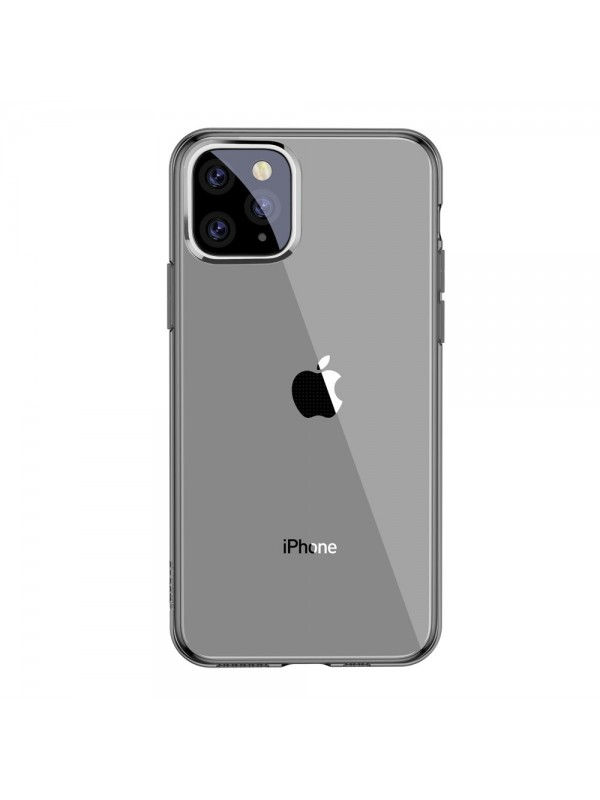 Husa Baseus Simple Series, iPhone 11 Pro Max, Negru Transparent