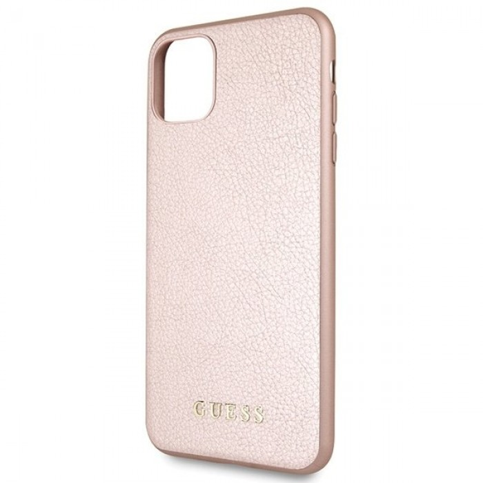 Husa de protectie, Guess Iridescent, iPhone 11 Pro Max, Rose Gold