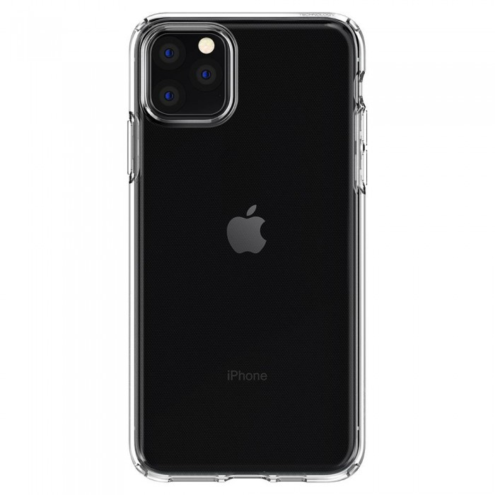 Husa iPhone 11 Pro, Spigen Liquid Crystal, Transparent