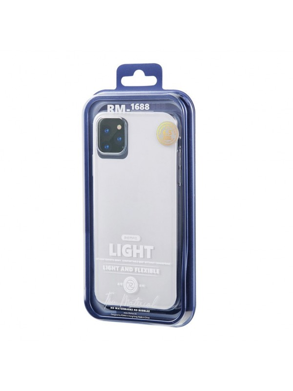 Husa de protectie Remax, Light Case, iPhone 11 Pro, Transparent
