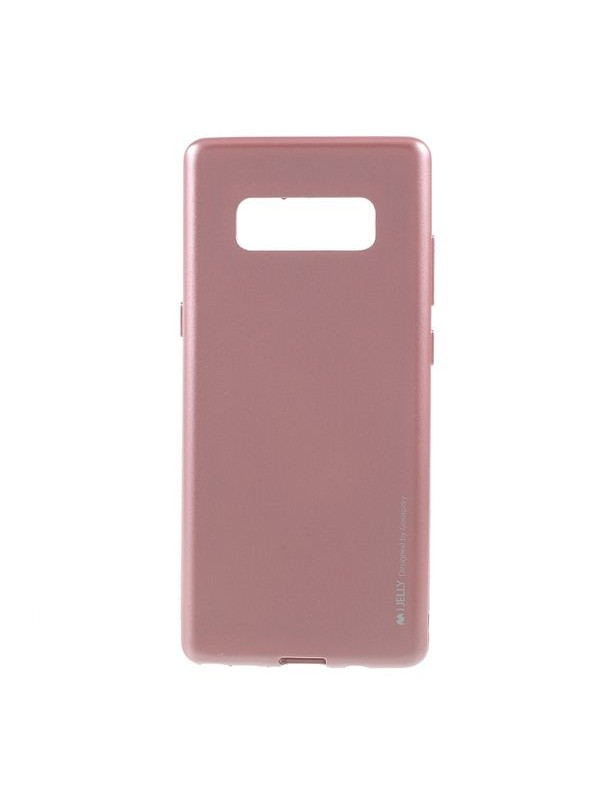 Husa Mercury iJelly Metal, Samsung Galaxy Note 8, Rose Gold