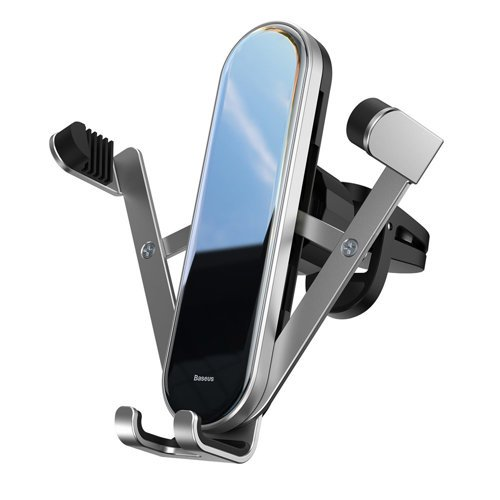 Suport Auto Baseus, Penguin Gravity Car Mount, Argintiu