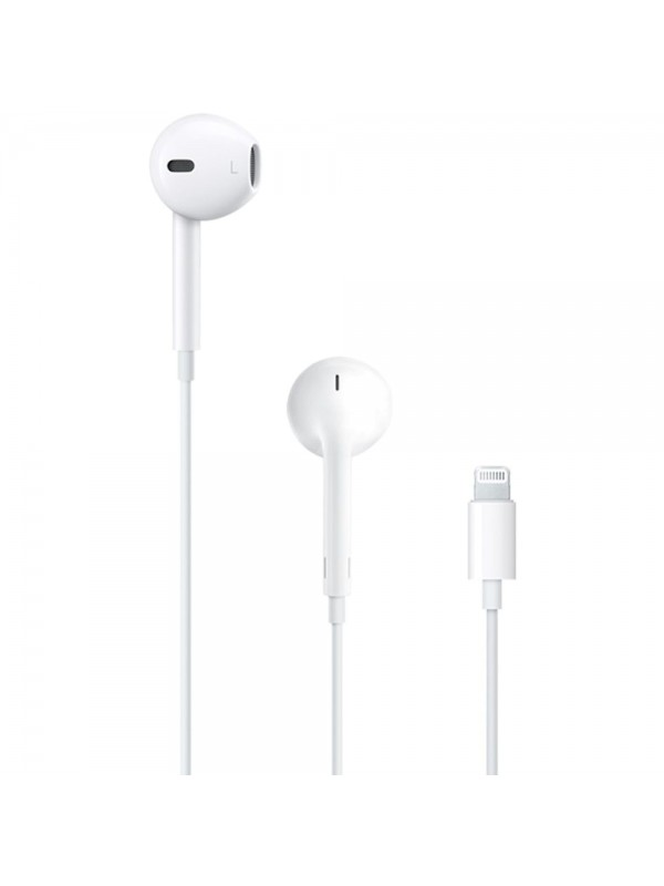 Casti Originale Apple, MMTN2ZM/A, iPhone / iPad, Albe, Lightning, Ambalaj Retail