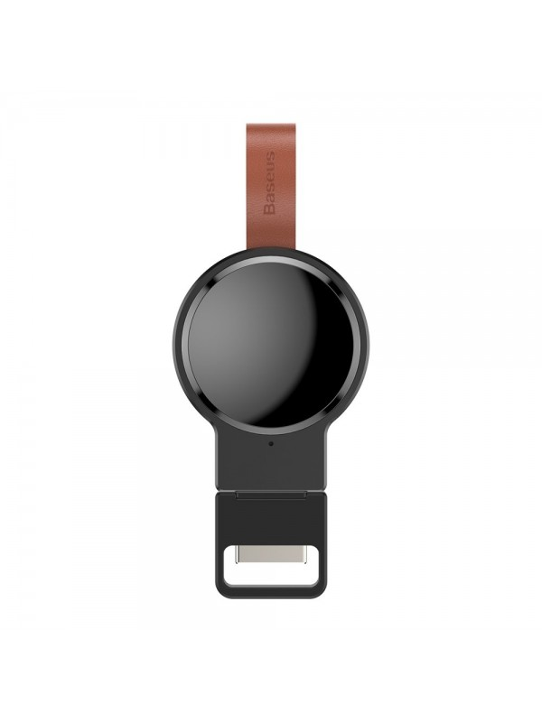 Incarcator Wireless Qi, Baseus Dotter mini Pentru Apple Watch, 2.5W, Negru