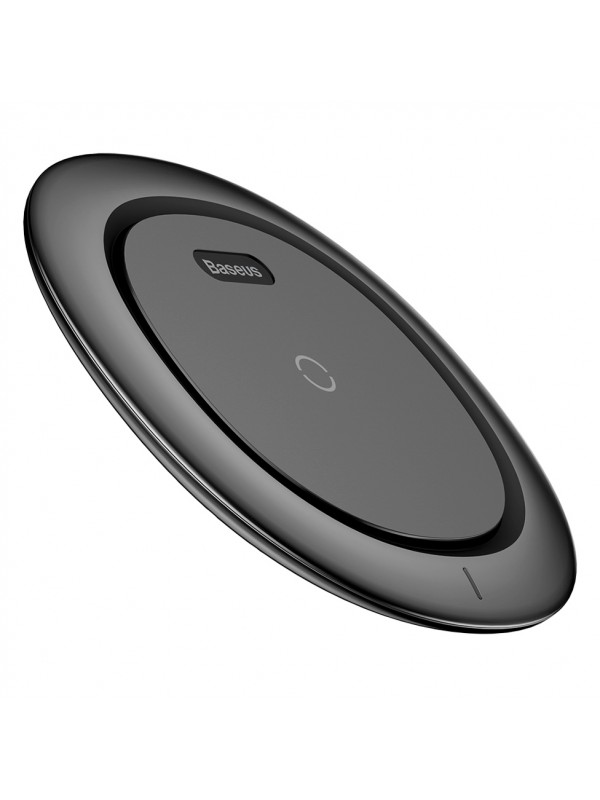 Incarcator QI Wireless, Baseus, Fast Charge, Negru