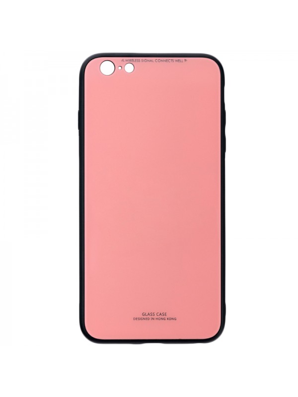 Husa Glass Case - Apple iPhone 6 / 6s, Roz