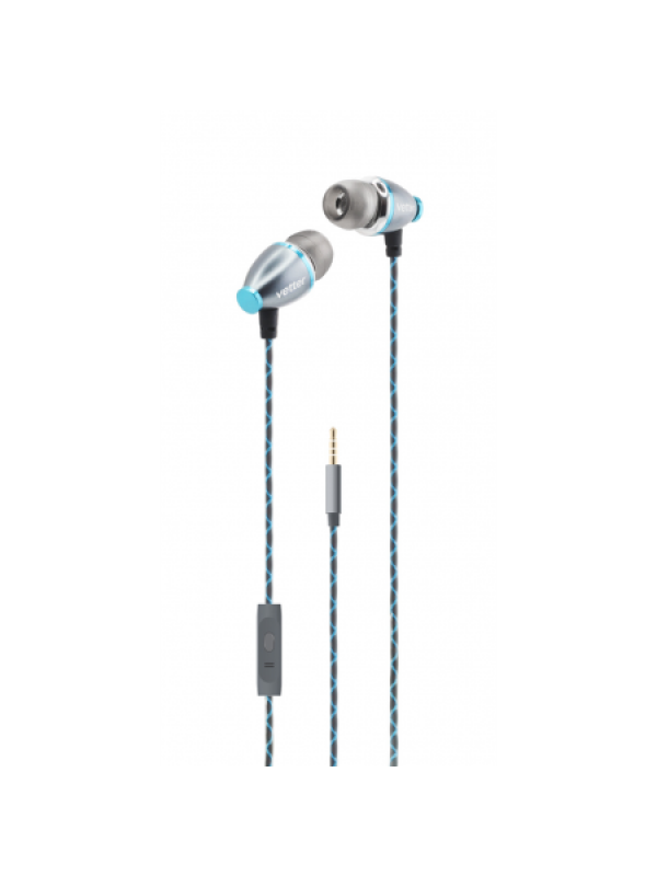 Casti ClearSound In-Ear Headphones, Handsfree,Vetter, Gri