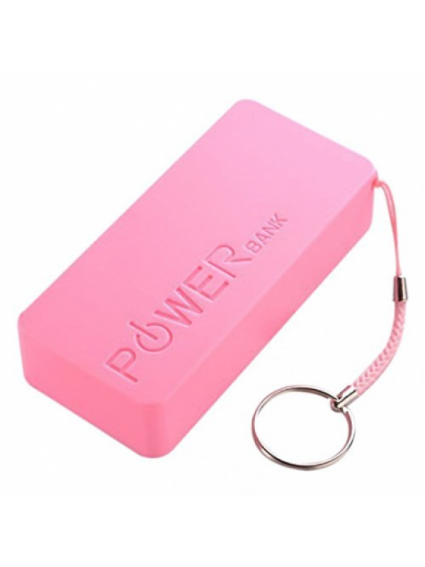 Acumulator Extern Power bank 5600mAh pendant Roz