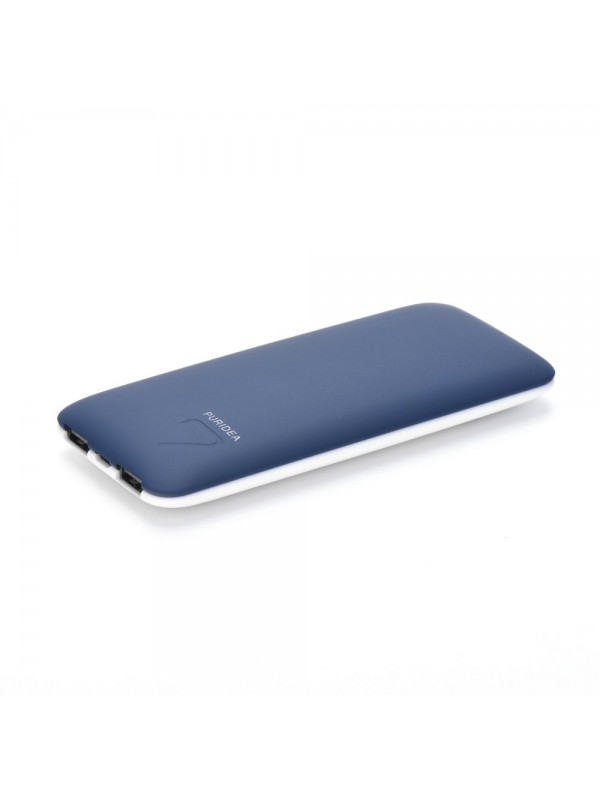 Acumulator Extern Power Bank, 7000 mAh Bleumarin Puridea S5, 2 x USB