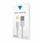 Cablu Magnetic Lightning Cable, Vetter, Silver
