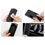 Suport Auto Magnetic Baseus Big Ears Cu Incarcare Wireless Qi Telefon - Negru