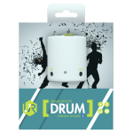 Boxa Portabila, TRUST UR Drum, Wireless Mini Speaker, Alb